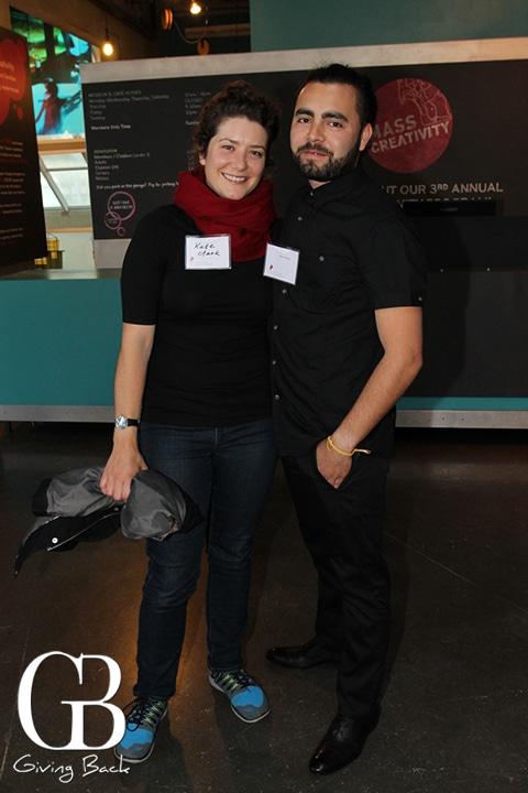 Kate Clark and Noe Olivas