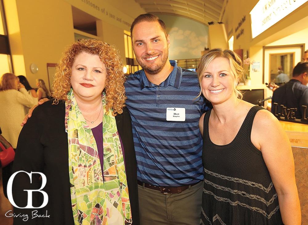 Katherine Shenar with Matt and Heidi Kingdon