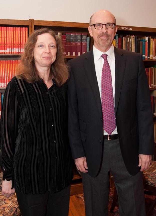 Kathi Peterson and Daniel Atkinson
