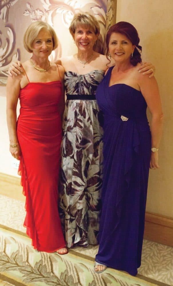 Kathleen Paveglio, Lorraine Wood and Valerie Lindholm