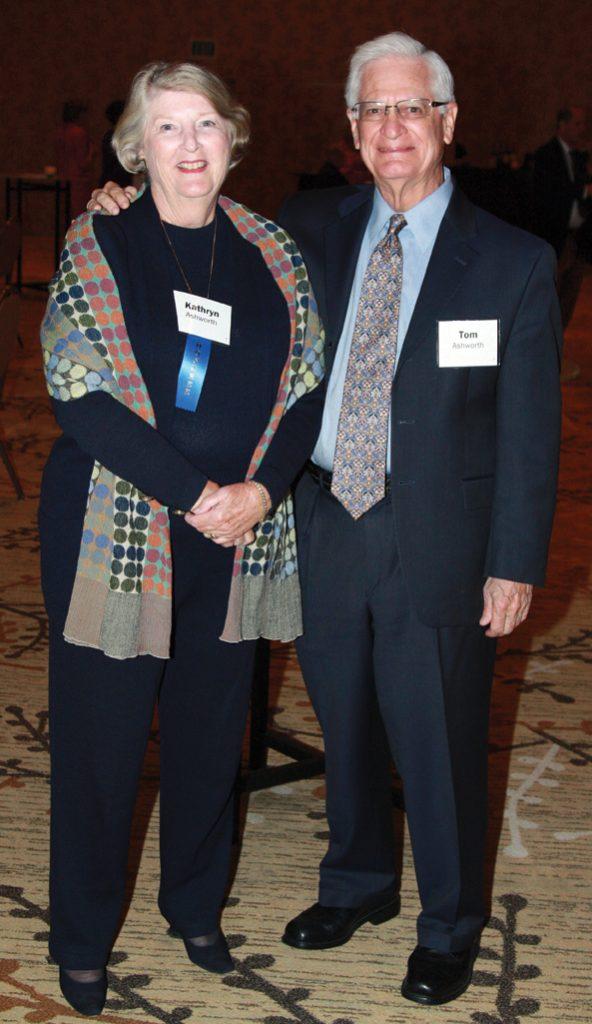 Kathryn and Tom Ashworth