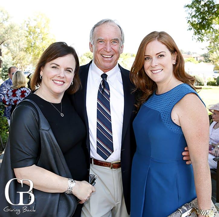 Kathryn and Tony Cenci with Stephanie Howard