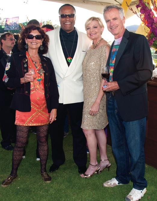 Kathy Waring, Jessie Knight, Joye Blount and Jim Waring