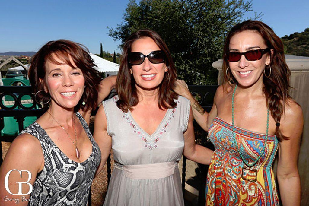 Kathy London  Karen Stevens and Janet McCulley