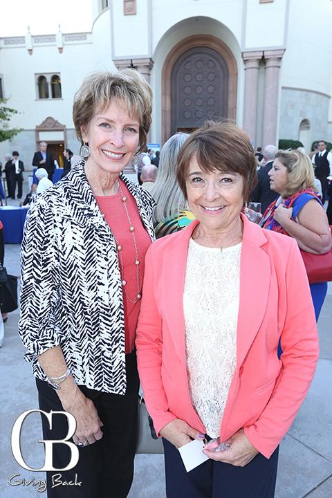 Kathy Townsend and Debra Kain