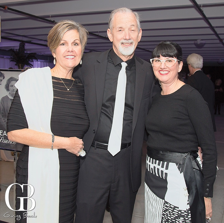Kathy and Dave Smith with Rivka Bent