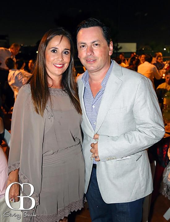 Katia Rodriguez y Juan Carlos Caro