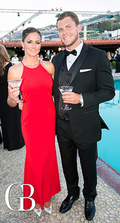 Katie Blando and Tim Barnes