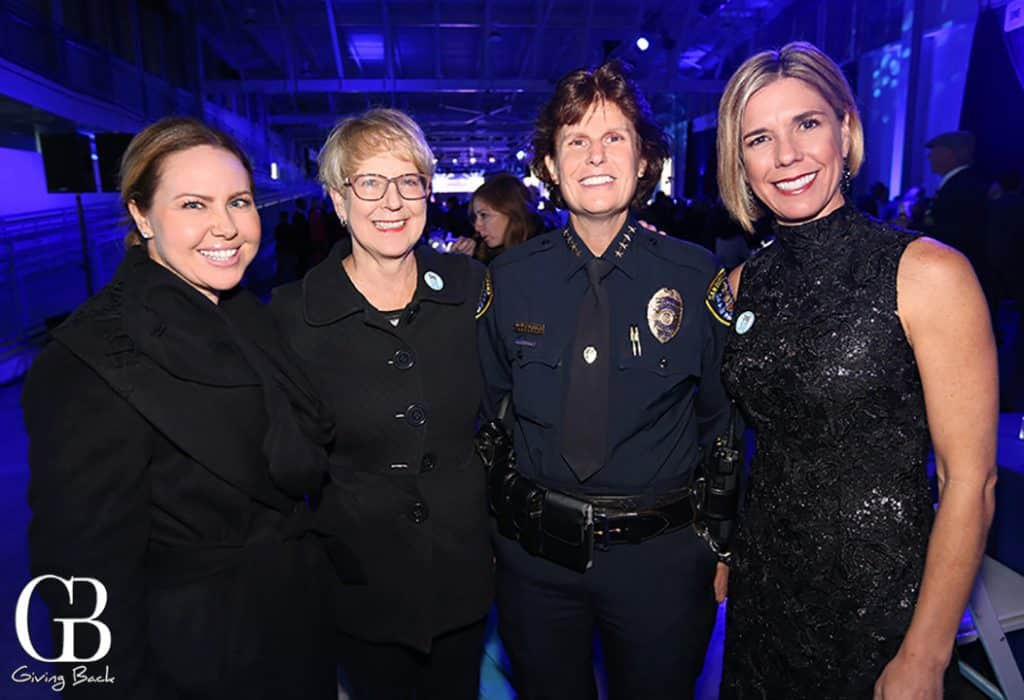 Katie Mccascy Claudia Wehrman  Chief Shelley Zimmerman and Stephanie Dathe