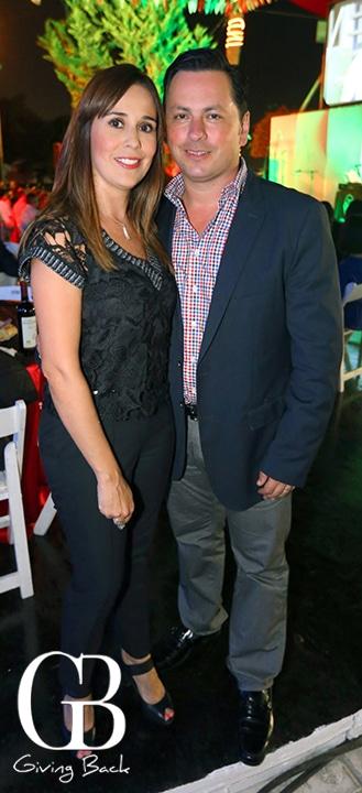 Katya Rodriguez y Juan Carlos Caro
