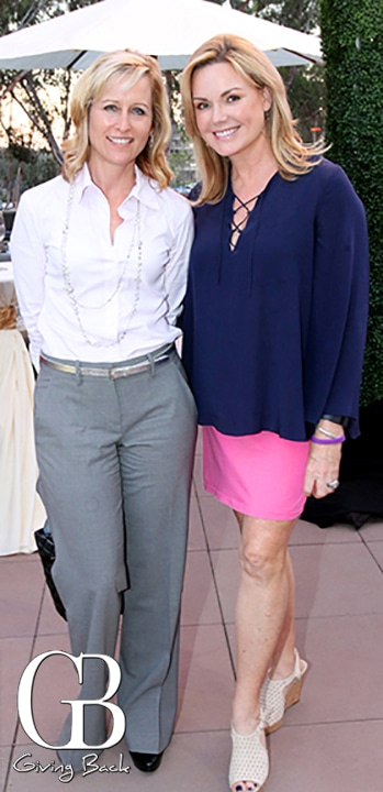 Kay Matherly and Jane Boal