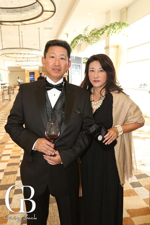 Kaz and Naoko Maetani