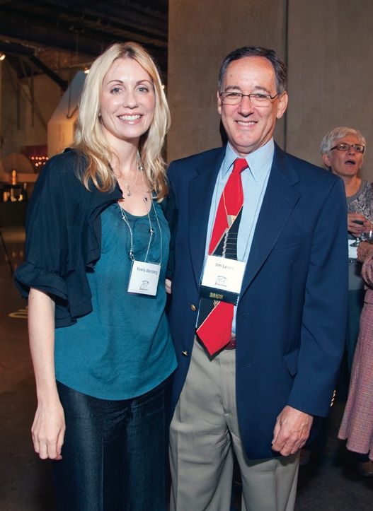 Keely Bamberg and Jim Lauer