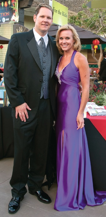 Keith and Erica Opstad