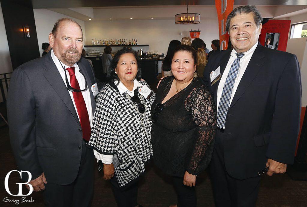 Keith Behner with Anna  Barbara and Richard Ybarra