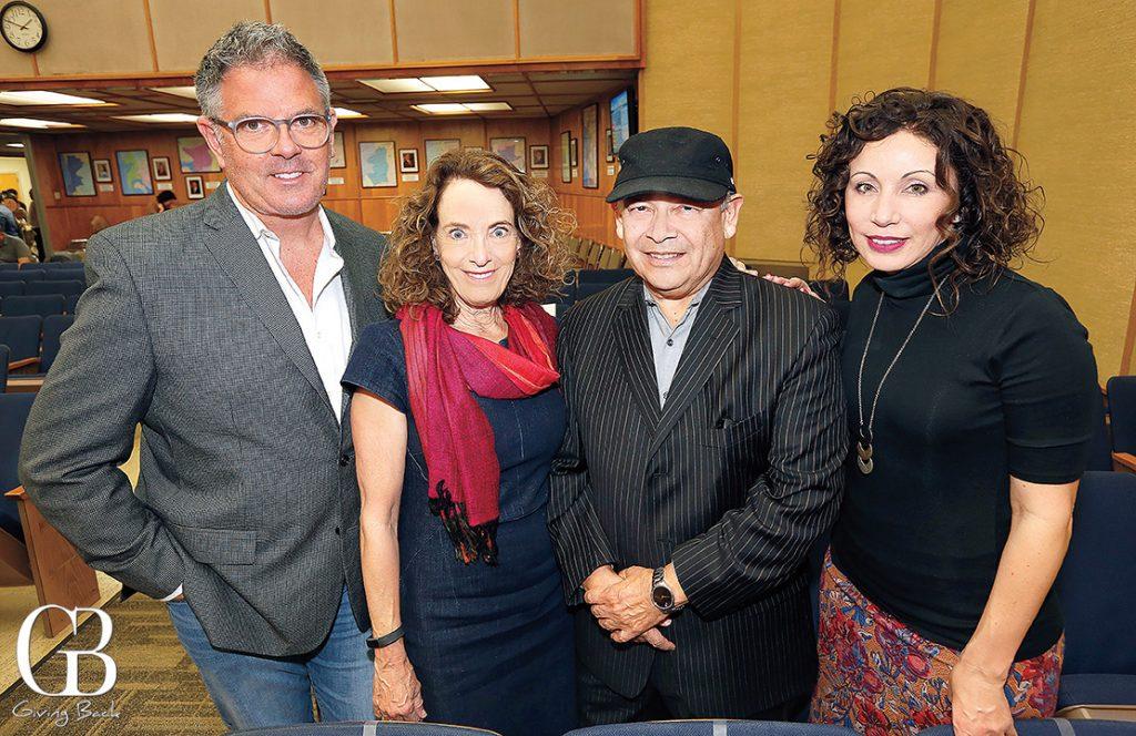 Keith Fisher  Linda Katz  Ted Martinez Jr. and Lisette Islas