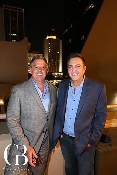 Keith Fisher and Mark Sanna