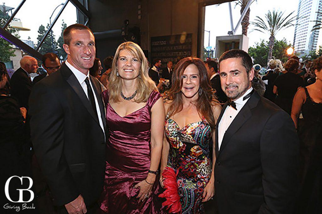 Keith and Amanda Clardy with Ali Kole and Keith Kegley