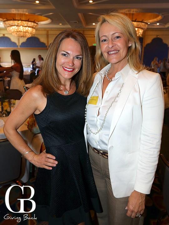 Keitha Giannella and Kathryn Gayner