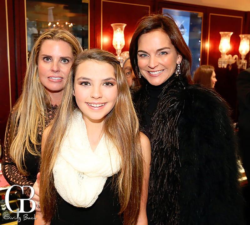 Kelli and Leyla Moradi with Mary Matthews