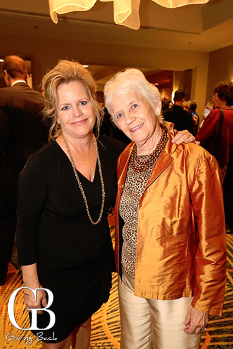 Kelly Sarber and Phyl Sarber