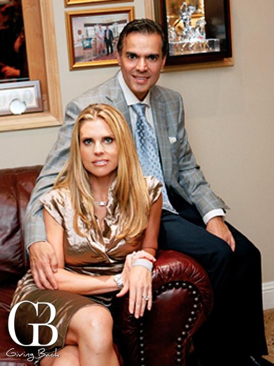 Kelly and Vahid Moradi