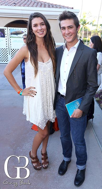Kelsey Maloney and Christopher Meyer