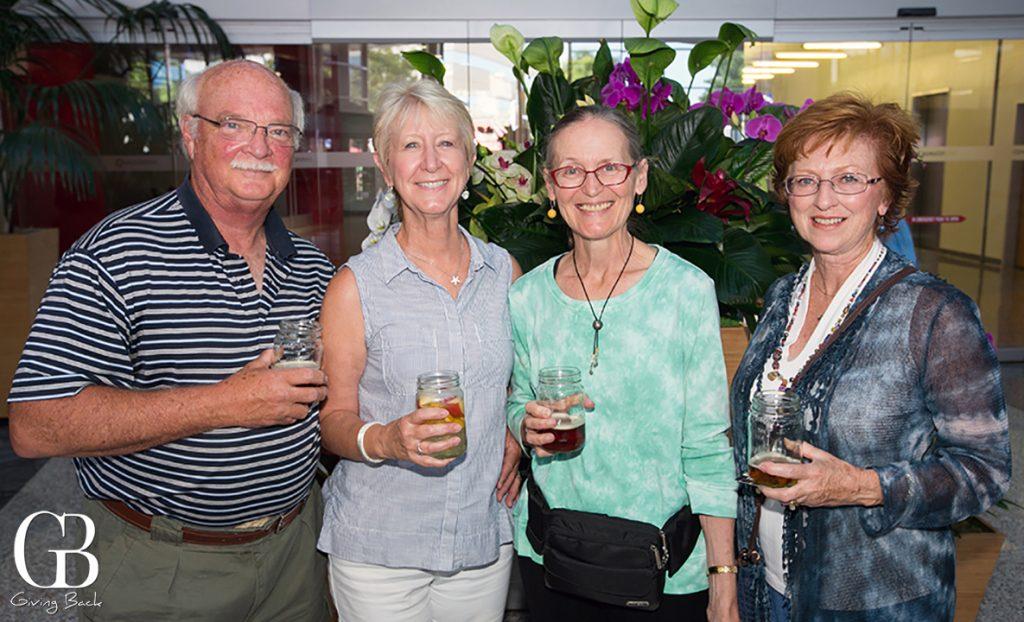 Ken Wessel  Susan Copple  Kathy Dolphin and Marjorie Burlingame