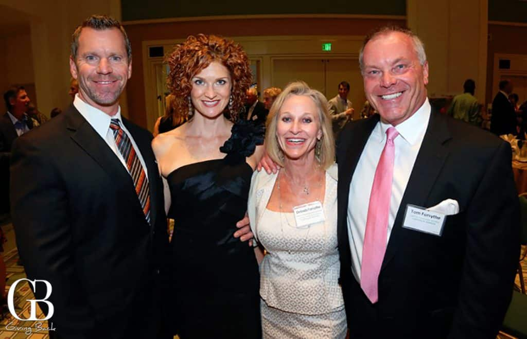 Ken and Mary Michaelsen with Delinda and Tom Forsythe