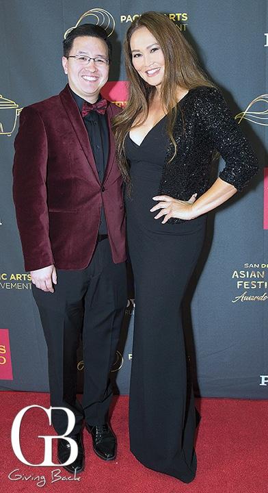 Kent Lee and Tia Carrere