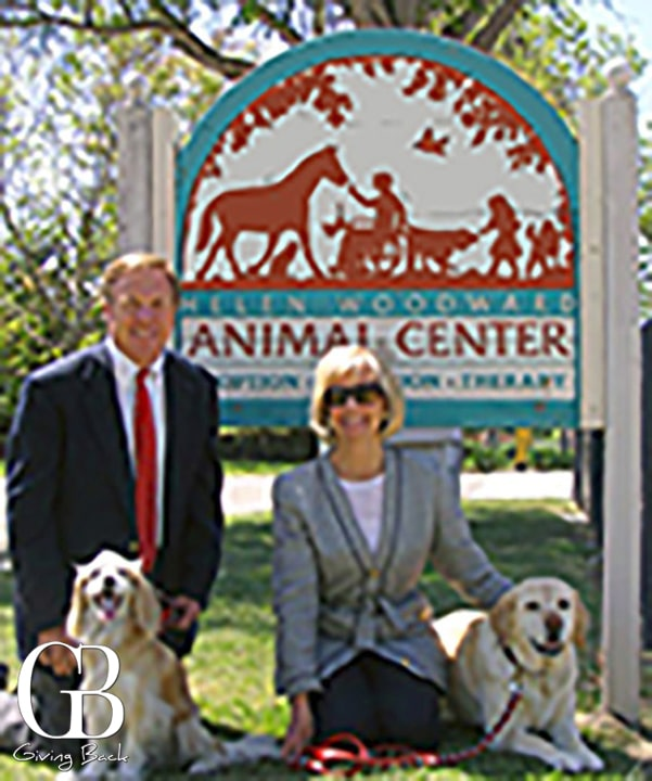Kerry and Scott at Helen Woodward Animal Center