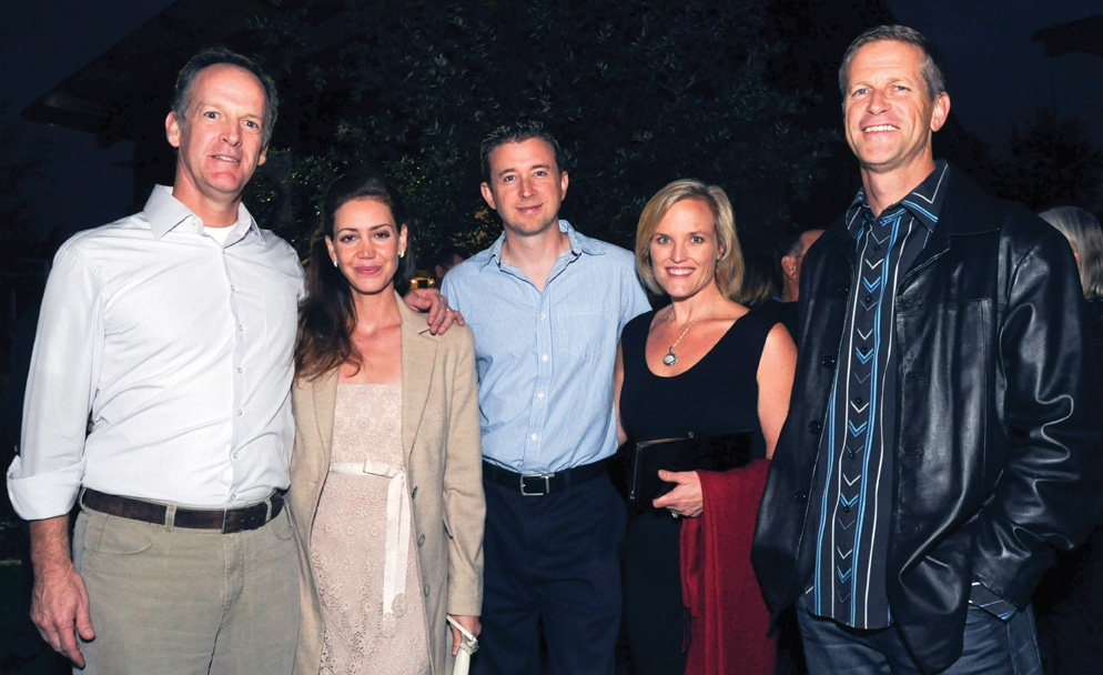 Kevin and Fernanda Lee with Carrie Hasler and Ken Fitzgerald.JPG