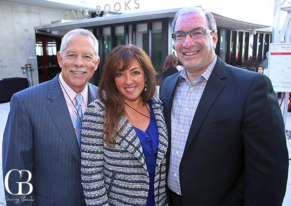 Kevin and Jolane Crawford with Mel Katz
