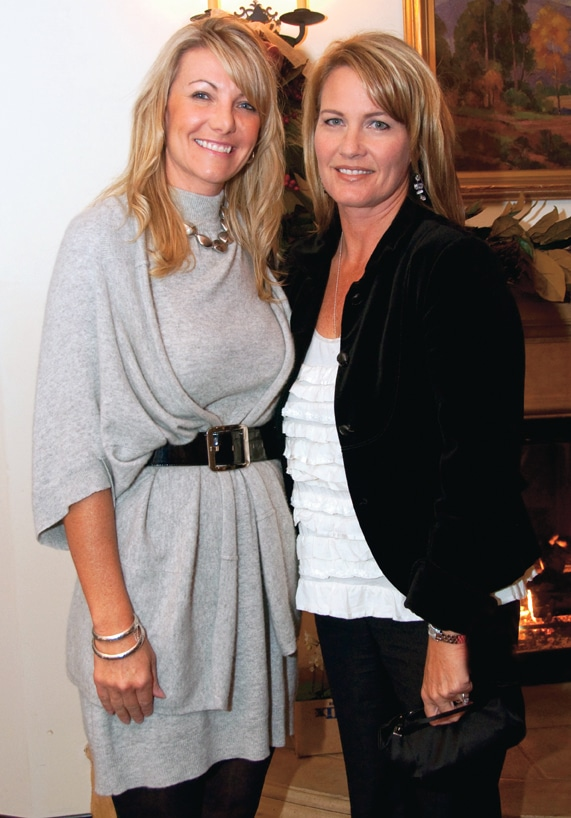 Kim Winship and Julie Levesque