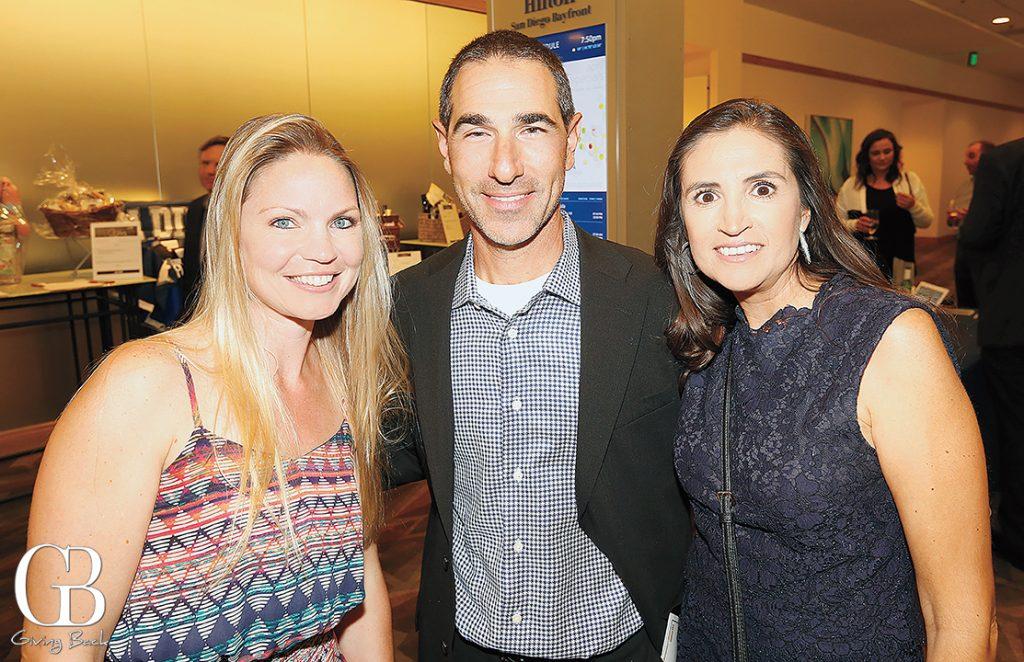 Kim Martinez with George and Maritza Mekitarian