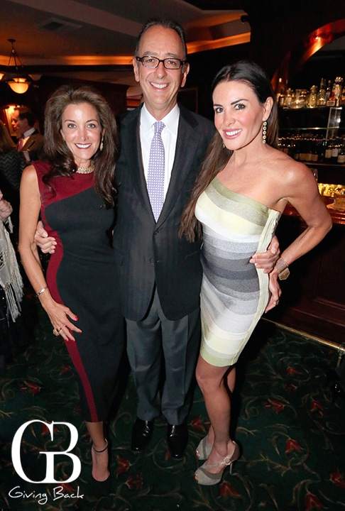 Kim and Bill Miller with Katherine Weber
