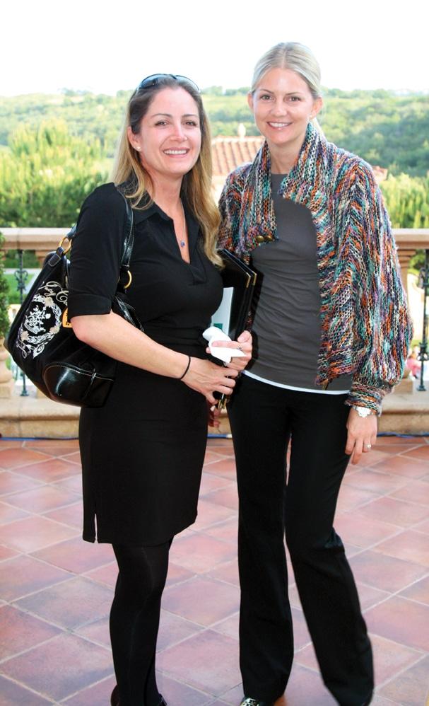 Kimberly Collis and Liz Bennett