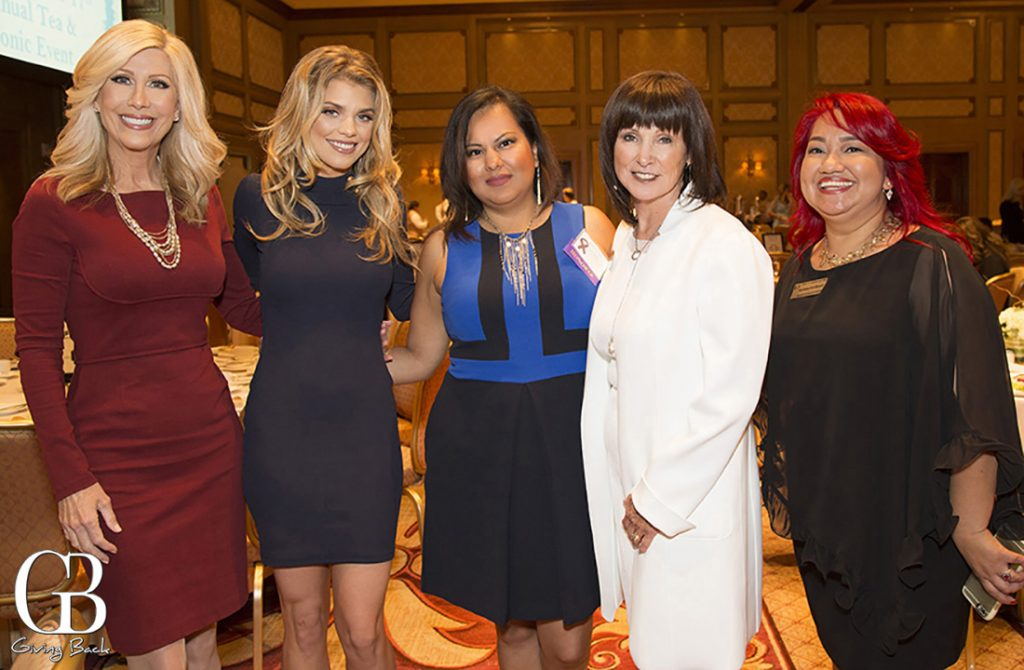 Kimberly Hunt  AnnaLynne Mccord  Lisbeth Perez  Verna Griffin Tabor and Alejandra Ceja Aguilar