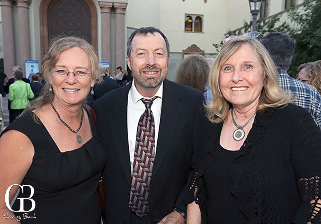 Kris Eitland  Tom Bedford and Barbara Metz