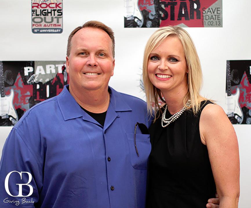 Kris and Christine Dickinson