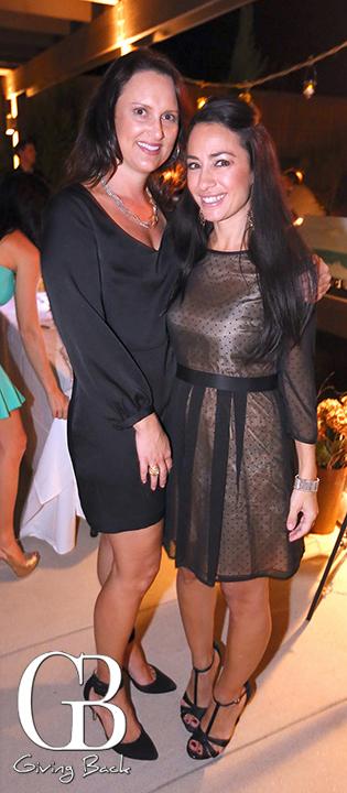 Kristen Spooner and Kelley Walla