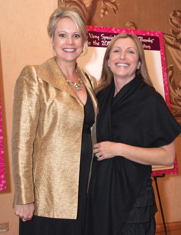 Kristin Bertell and Tanya Schafer
