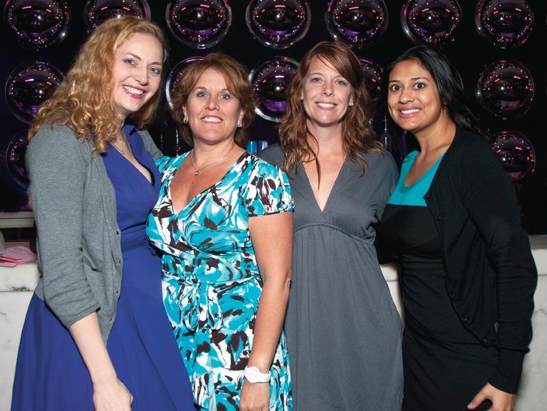 Kristin Kahle, Beth Perez, Sara Yupcavage and Swati Arroyo