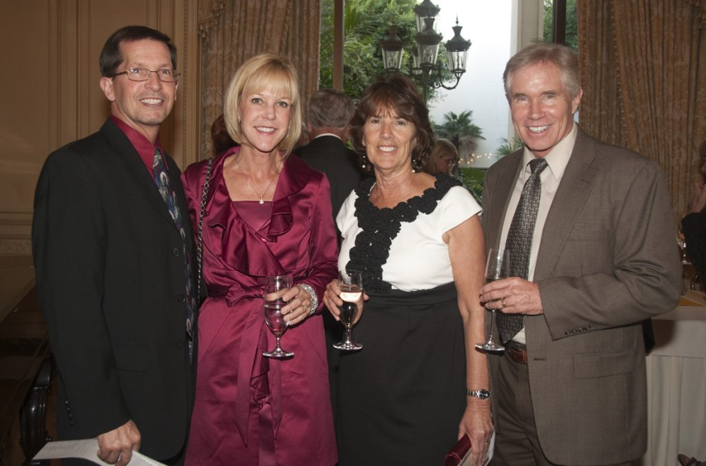 Kurt and Andrea Kolber with Kathy and Chuck Mendenhall