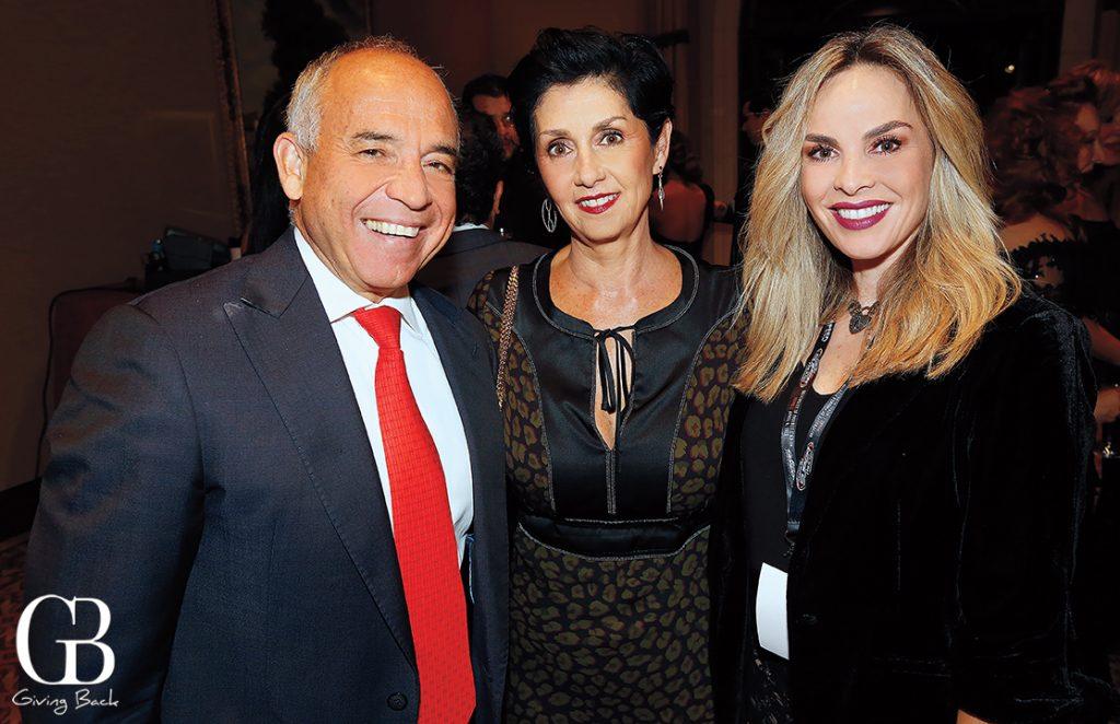 Kurt and Tati Honold with Roxana Castro