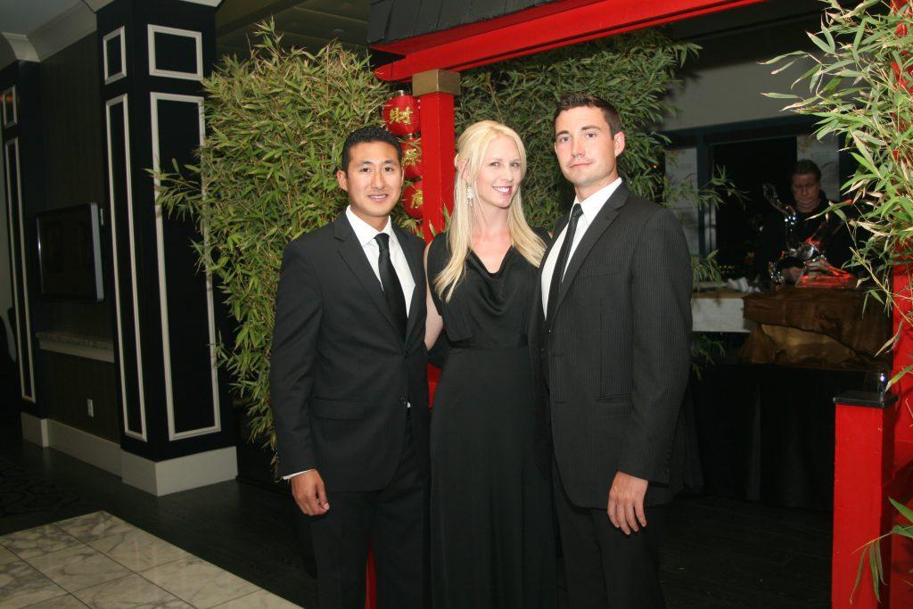 Kyle Ballarta, Angel King and Parker Harris