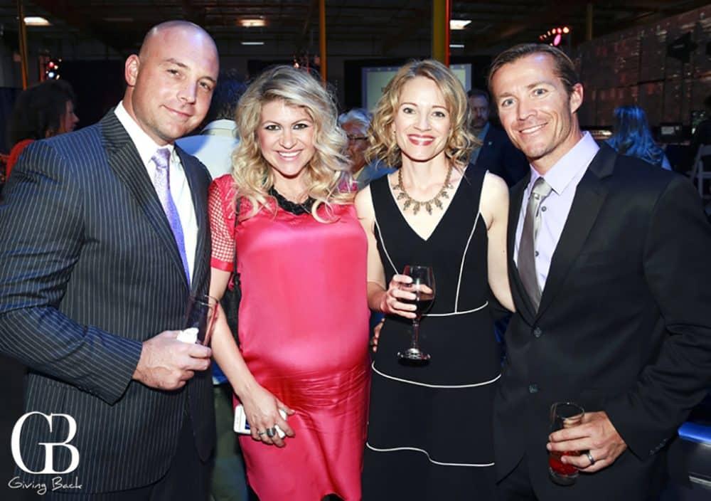 Kyle and Candice Buckett with Christi and Nick Kush