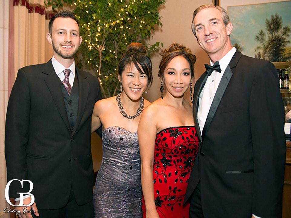 Kyle and Jenn Watson with Raelyn Hokulani and Robert Newcomb