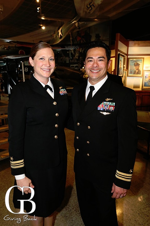 LCDR Stacy Uttecht and LCDR Allyn Uttect