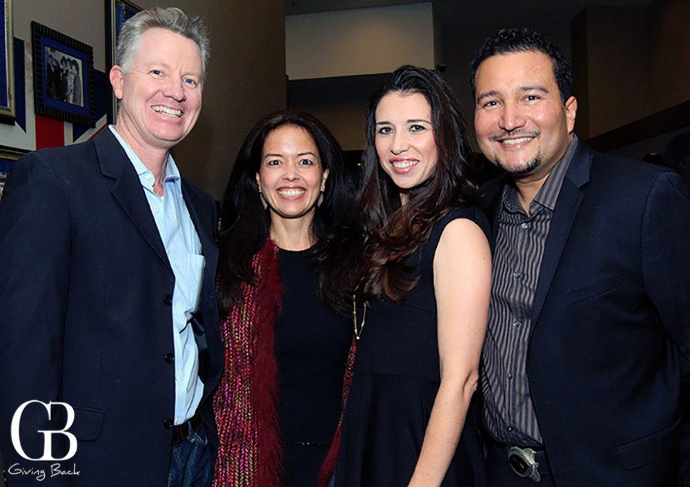 Lambert and Monique Devoe with Christina and Juan Tovar